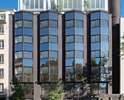 Surélévation immeuble 64 avenue Pierre Grenier 92100 Boulogne-Billancourt - Iroko Surélévation